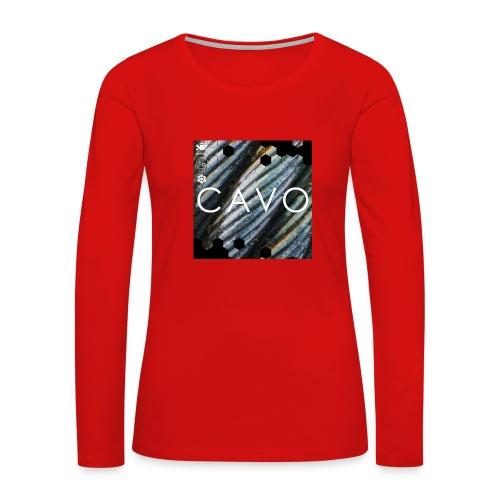 Cavo - Women's Premium Slim Fit Long Sleeve T-Shirt