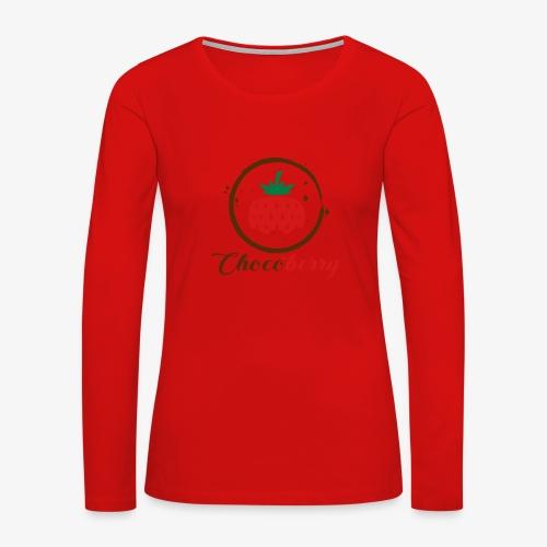 Chocoberry - Women's Premium Slim Fit Long Sleeve T-Shirt