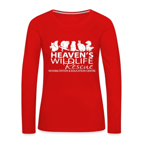 HWR White - Women's Premium Long Sleeve T-Shirt