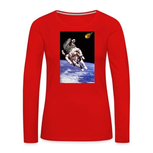 how dinos died - Women's Premium Long Sleeve T-Shirt