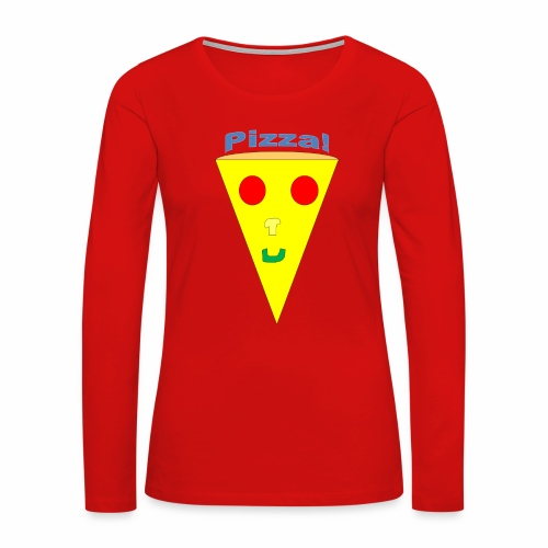 pizzalogo - Women's Premium Long Sleeve T-Shirt