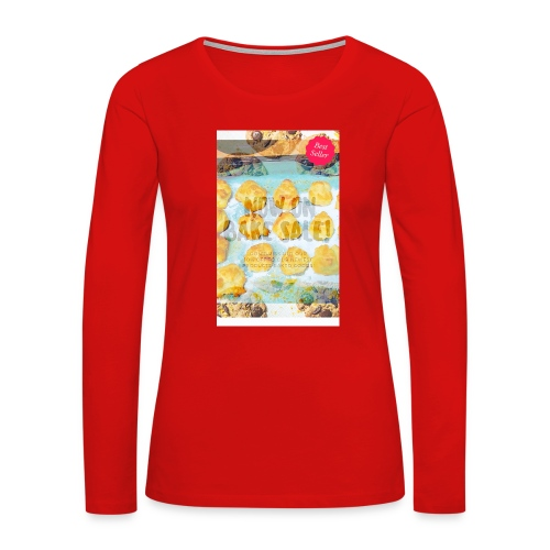 Best seller bake sale! - Women's Premium Slim Fit Long Sleeve T-Shirt