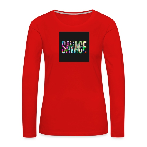 Savage Wear - Women's Premium Long Sleeve T-Shirt