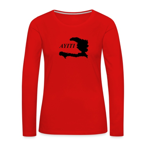 Hispaniola - Women's Premium Long Sleeve T-Shirt
