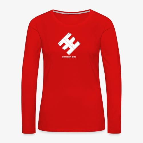 Everybody Eats Official Logo - Women's Premium Long Sleeve T-Shirt