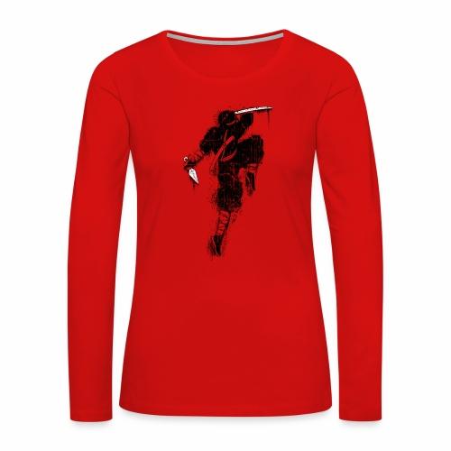 Ninja - Women's Premium Long Sleeve T-Shirt