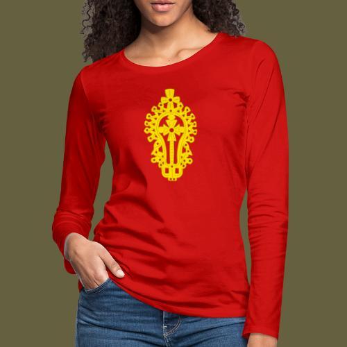 Lasta Cross - Women's Premium Long Sleeve T-Shirt