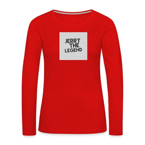 Jerry The Legend classic - Women's Premium Long Sleeve T-Shirt