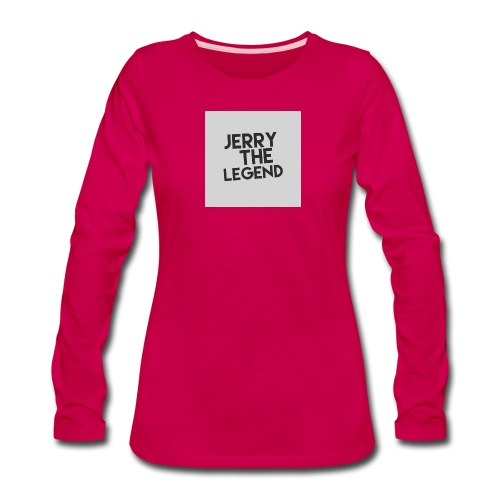 Jerry The Legend classic - Women's Premium Long Sleeve T-Shirt
