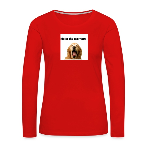 doggo - Women's Premium Long Sleeve T-Shirt