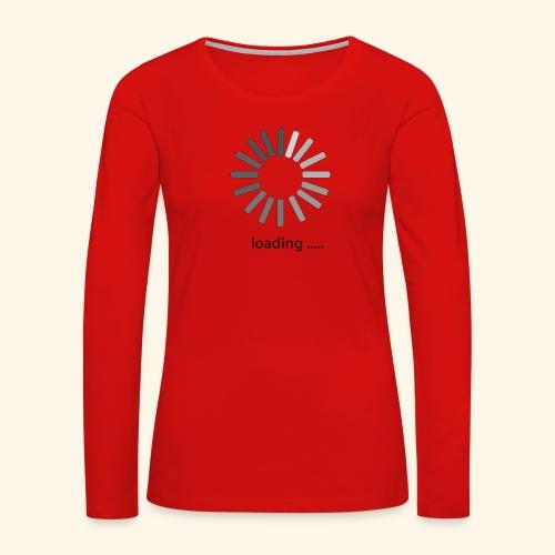 poster 1 loading - Women's Premium Long Sleeve T-Shirt
