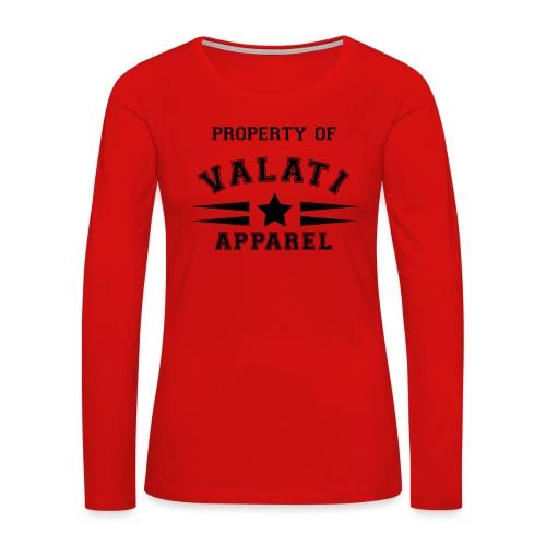 Property Of - Women's Premium Long Sleeve T-Shirt