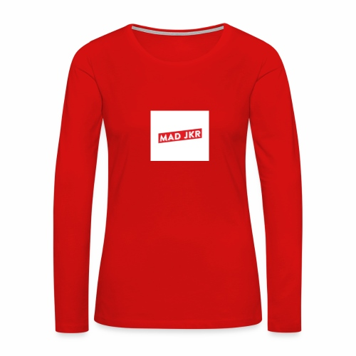 Mad rouge - Women's Premium Slim Fit Long Sleeve T-Shirt