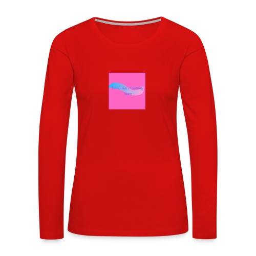 Bindi Gai s Clothing Store - Women's Premium Slim Fit Long Sleeve T-Shirt