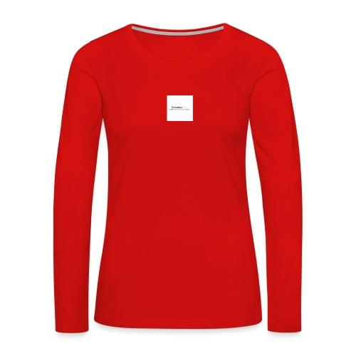 YouTube Channel - Women's Premium Long Sleeve T-Shirt