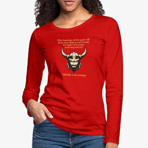 Hammer of the Gods - Women's Premium Long Sleeve T-Shirt