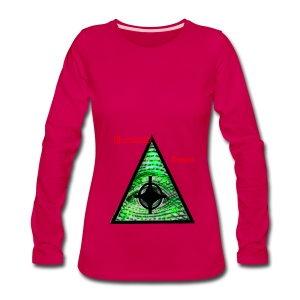 illuminati Confirmed - Women's Premium Long Sleeve T-Shirt