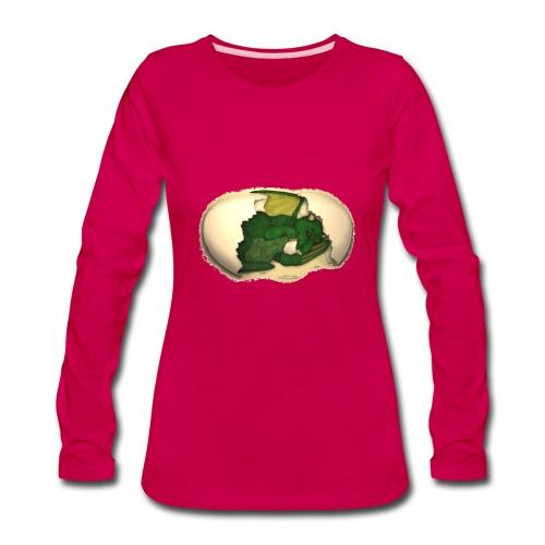 The Emerald Dragon of Nital - Women's Premium Long Sleeve T-Shirt