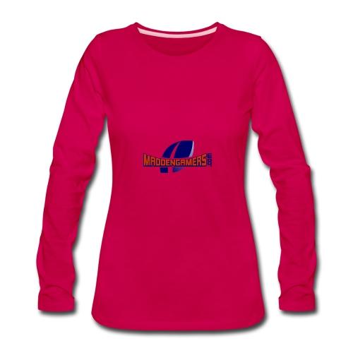 MaddenGamers - Women's Premium Long Sleeve T-Shirt