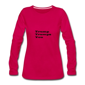 T1 - Women's Premium Long Sleeve T-Shirt