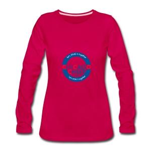 ChicagoCheer.Com - Women's Premium Long Sleeve T-Shirt