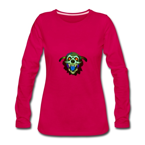 Dr. Mindskull - Women's Premium Long Sleeve T-Shirt