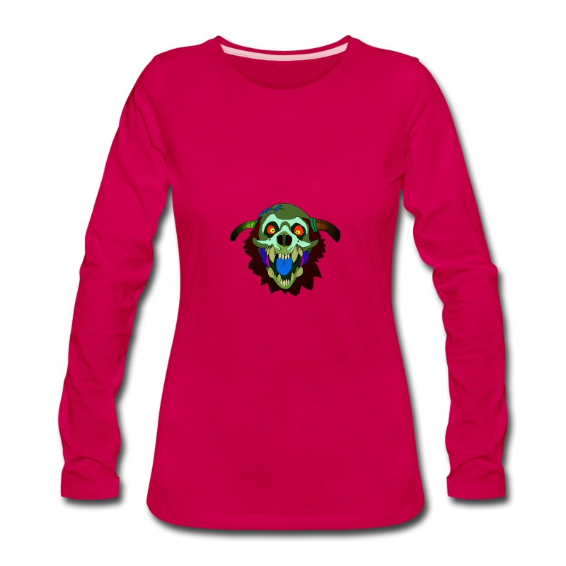 Dr. Mindskull - Women's Premium Long Sleeve T-Shirt