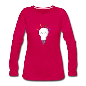 Lighten Up - Women's Premium Long Sleeve T-Shirt