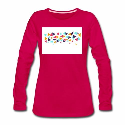 T shirt - Women's Premium Slim Fit Long Sleeve T-Shirt