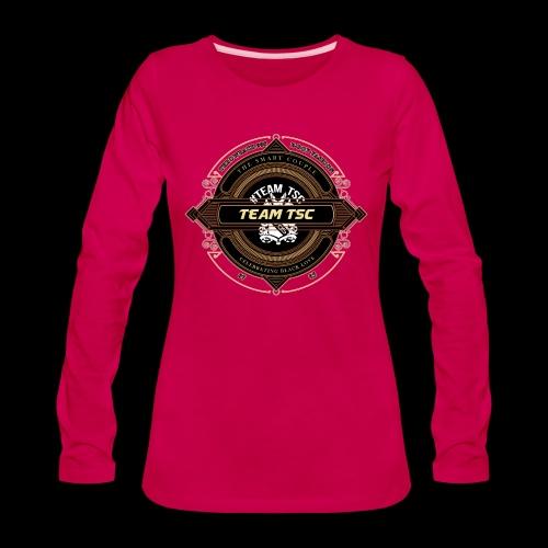 Design 9 - Women's Premium Slim Fit Long Sleeve T-Shirt