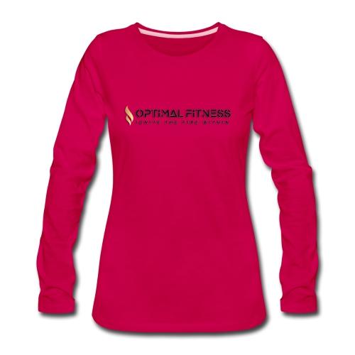color logo transparent - Women's Premium Long Sleeve T-Shirt