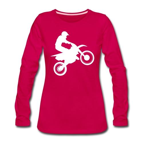 Motocross - Women's Premium Long Sleeve T-Shirt