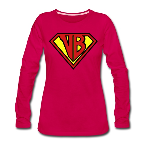 VB Hero Woman - Women's Premium Slim Fit Long Sleeve T-Shirt