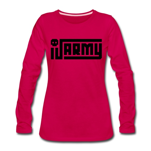 iJustine - iJ Army Logo - Women's Premium Long Sleeve T-Shirt