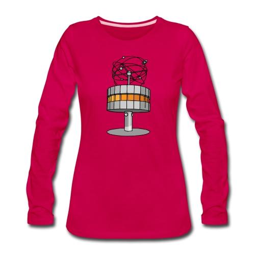 World time clock Berlin - Women's Premium Long Sleeve T-Shirt