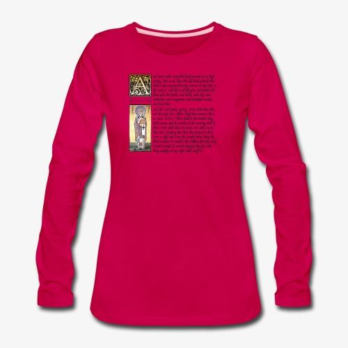 Holy Hand Grenade of Antioch - Women's Premium Long Sleeve T-Shirt