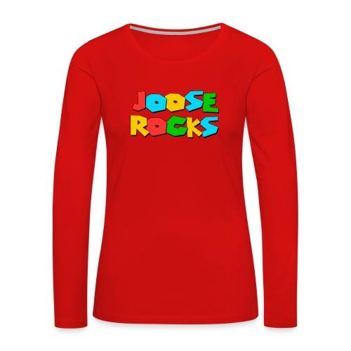 Super Joose Rocks - Women's Premium Long Sleeve T-Shirt