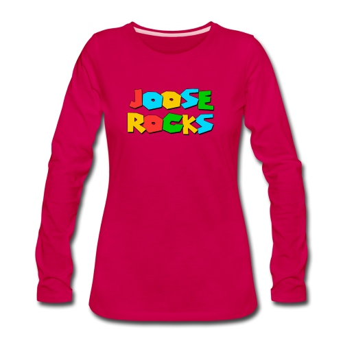 Super Joose Rocks - Women's Premium Slim Fit Long Sleeve T-Shirt