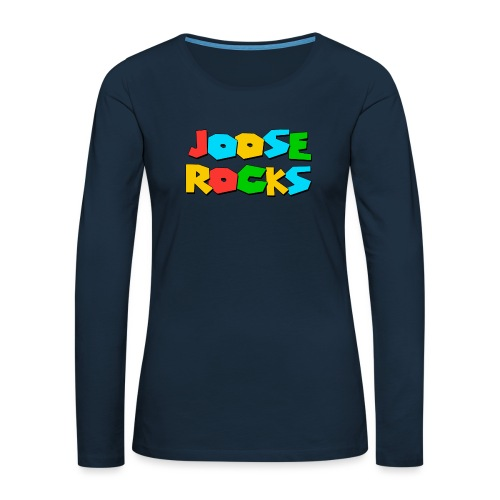 Super Joose Rocks - Women's Premium Slim Fit Long Sleeve T-Shirt