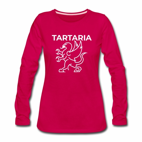 Tartaria: A Forgotten Country (With Flag) - Women's Premium Long Sleeve T-Shirt