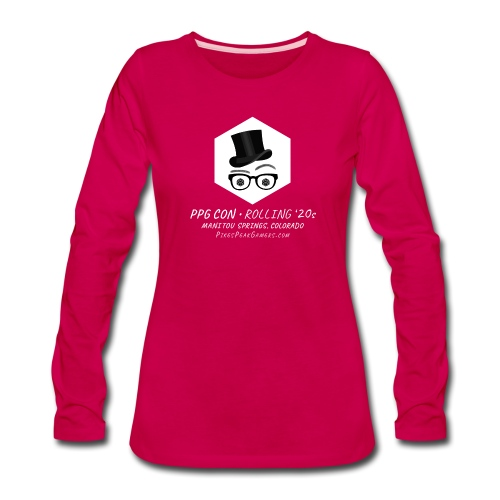 Pikes Peak Gamers Convention 2020 - Women's Premium Slim Fit Long Sleeve T-Shirt