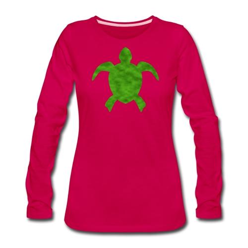Sea turtle green - Women's Premium Long Sleeve T-Shirt