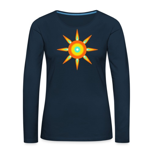 Indian style star - Women's Premium Slim Fit Long Sleeve T-Shirt