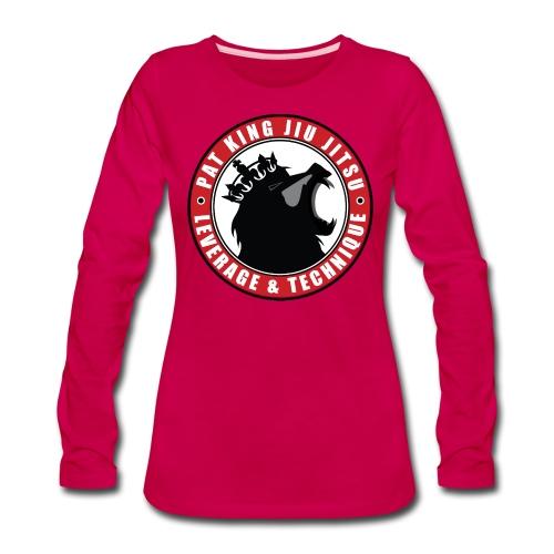 PK Merch grey22 - Women's Premium Long Sleeve T-Shirt
