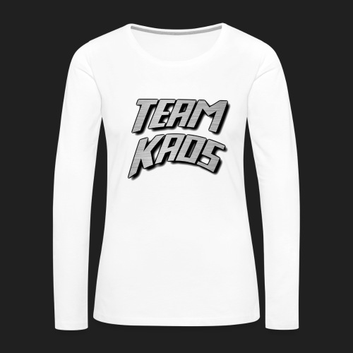 teamkaossteel4k png - Women's Premium Long Sleeve T-Shirt