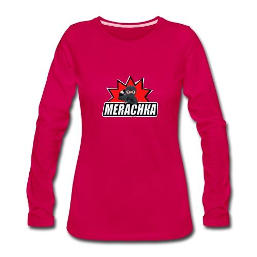 MERACHKA - Women's Premium Slim Fit Long Sleeve T-Shirt