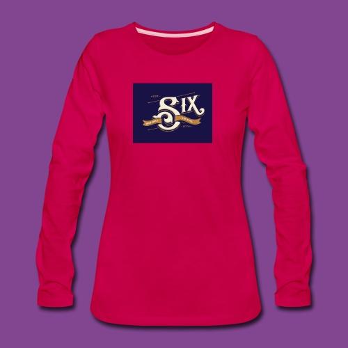 the 6 blue - Women's Premium Long Sleeve T-Shirt