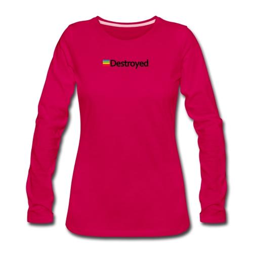 Polaroid Destroyed - Women's Premium Long Sleeve T-Shirt