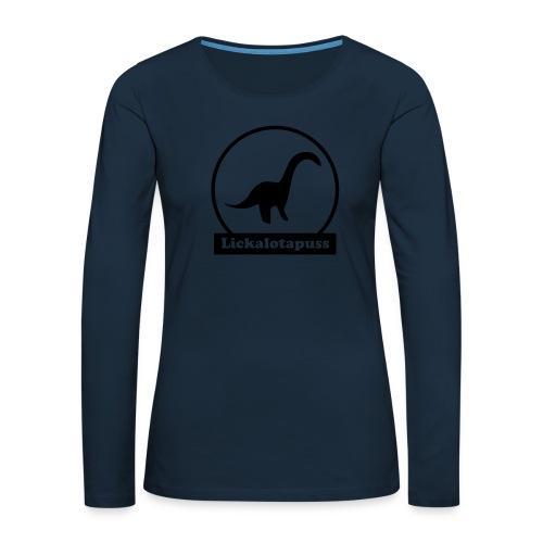 Lickalotapuss - Women's Premium Slim Fit Long Sleeve T-Shirt