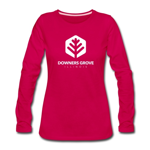 Downers Grove - Women's Premium Long Sleeve T-Shirt